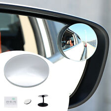 1x Car Blind Spot Wide Angle Mirror Stick On Side Rear-view Mirror Accessories