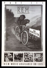 R.E.M. Rem Fables Of The Reconstruction Vintage 1985 I.R.S. Promo Poster