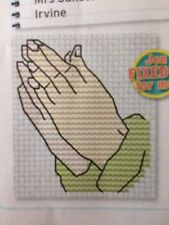 Let Us Pray And Trevor Turtle Design Cross Stitch Chart