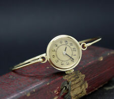 New Old Stock Ladies THERMIDOR unmarked bracelet vintage mech watch GOLDPLATED