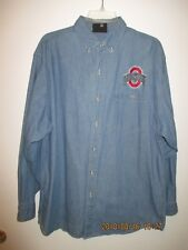 Men's Clothing Large Ohio State University Buckeyes College NCAA Jean Shirt New