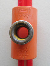 "SPEARS 1"" x 1"" x 1/2"" CPVC Fire Sprinkler Head Tee - 4202-130"