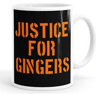 Office Ginger Mug for Tea or Coffee Neon Orange