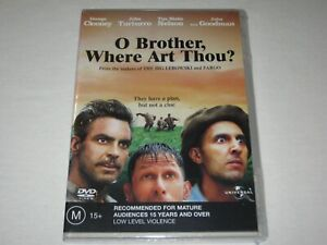 O Brother, Where Art Thou? - John Goodman - Brand New & Sealed - Region 4 - DVD