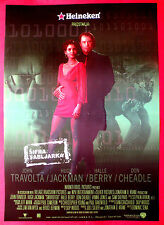 SWORDFISH 2001 HALLE BERRY HUGH JACKSON JOHN TRAVOLTA RARE SERBIAN MOVIE POSTER