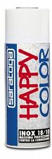 SMALTO SPRAY HAPPY COLOR Inox 18/10, SARATOGA, ANTICORROSIVO, 400ML