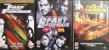 FAST AND THE FURIOUS 1,2,3 TOKYO DRIFT Vin Diesel*Walker Racing Cars DVD *EXC*