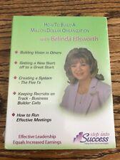New! How to Build a Million Dollar Organization with Belinda Ellsworth 4 Cd Set