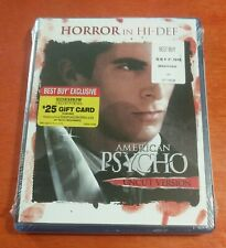 American Psycho Blu-ray Christian Bale Willem Dafoe Jared Leto Reese Witherspoon