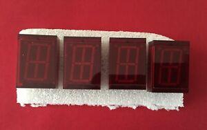 Vintage 9 Pin LED 9 segment Light 29mm x 20mm x 4 Units