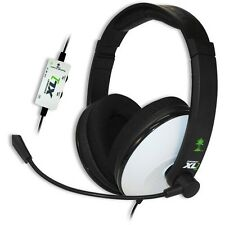 White/Black Turtle Beach Ear Force XL1 Headband Headsets Microsoft Xbox 360