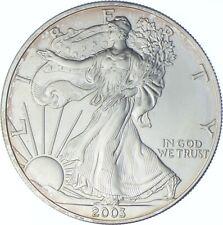 Better Date 2003 American Silver Eagle 1 Troy Oz .999 Fine Silver *401