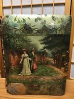 Vintage 1871 Beautiful Victorian Photograph Celluloid Album Book 30 Pictures