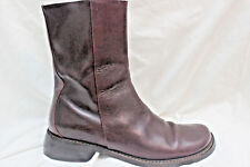 Size 7.5 M Donald J Pliner Italian Mens Ankle Boots Shoes  Brown Leather Oxblood