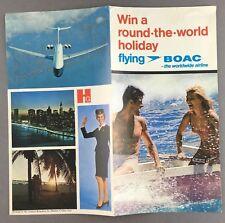HAMLYN BOOKS LEAFLET BOAC CABIN CREW VC10 STEWARDESS 1969 B.O.A.C.