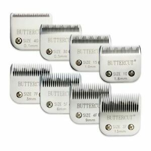 Geib Buttercut Grooming Blades Stainless Steel 8 Pack A5 Blades