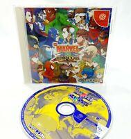 Sega Dreamcast - Marvel vs Capcom Clash Of S Heros - NTSC-J Japanese Video Game