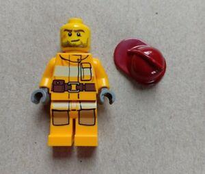Lego City - Firefighter Minifigure