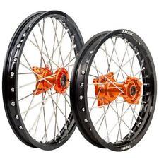 Husqvarna TC 85 2014–2017 Tusk Impact 19/16 F/R Orange/Black Wheel Kit