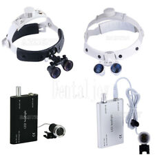 Dental Medical Led Head Light Loupe 35x Surgical Magnifier Loupes Binocular