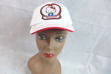 Hello Kitty Hat Ball Cap Strap Back 40th Anniversary Junior Cap Adjustable  NEW