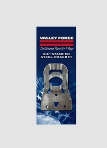 "New SB2-1 VALLEY FORGE 3/4"" Stamped Steel Flag Pole Bracket w/ Screws Flagpole"