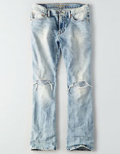 American Eagle Men's Original Boot Cut Jeans - Light Destroy Wash - 38x30 - NWT
