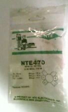 Nos Nte470 Npn Transistor Rf Power Transistor