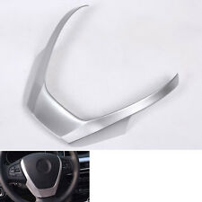For 14-16 BMW X5 Matte Steering Wheel Part Cover Trim Decoration Accessories ABS