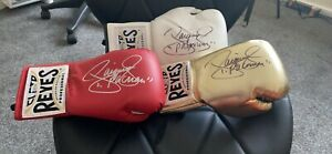manny pacquiao signed gloves All With Becket Coa. £165 Each