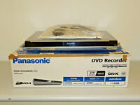 Panasonic DMR-EH545 DVD-Recorder / 160GB HDD silber in OVP, FB&BDA, 2J. Garantie