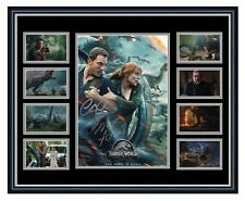 JURASSIC WORLD: FALLEN KINGDOM PRATT SIGNED LIMITED EDITION FRAMED MEMORABILIA