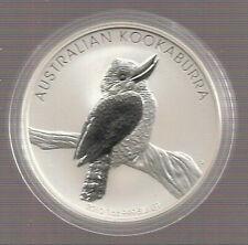 Australien 1 Unze Silber Kookaburra  2010 Stempelglanz !!