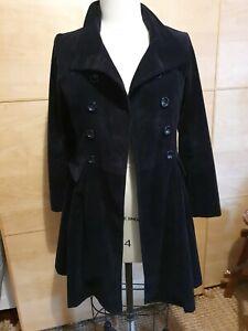 Black Corduroy Coat. Size 12