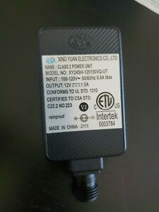 AC/DC POWER ADAPTER 1.5 A Holiday Airblown Inflatable Blow Up's 120V /12VDC