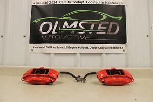 06 16 Dodge Charger SRT8 Brembo Rear Left Right Brake Calipers Hoses Challenger