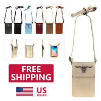 Women's Crossbody Phone Touch Screen Shoulder Bag Pouch Handbag Purse Wallet USA