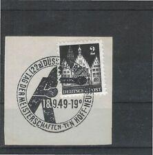 Deutsche Briefmarken der alliierten Besatzung aus Einzelmarke mit Bedarfsbrief