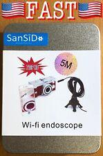 SanSiDo Endoscope Camera iPhone Wifi Wireless iPhone Android Borescope Endoscope