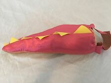 PINK Dragon Dinosaur Lizard Tail Halloween Costume Toddler 2T 3T 4T Free Ship!