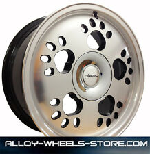 "16"" VW UP ALLOY WHEELS  4 STUD BLACK DIAMOND 4X100 (11>ONWARDS)"