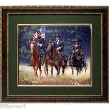 Mort Kunstler Soldiers of Glory Calendar Print Framed