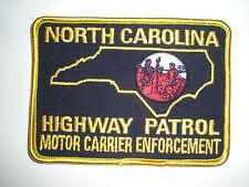 NORTH CAROLINA HIGHWAY PATROL MOTOR CARRIER ENFORCEMENT PATCH