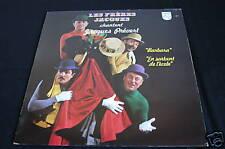 Les Frères Jacques chantent Jacques Prévert   LP 33T