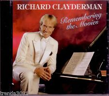 RICHARD CLAYDERMAN Remembering Movies CD Classic 70s Pop Chariots Fire Rare