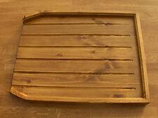 angled draining board belfast sink/butler drainer med