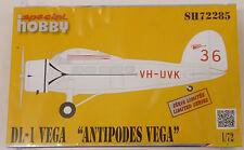 Special Hobby 1/72 Vega DL-1 Antipodes Model Kit 72285