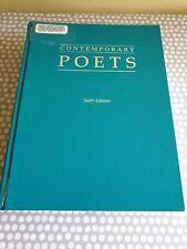 Contemporary Poets. Sixth Edition. Hardback