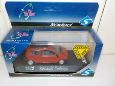 RENAULT TWINGO by Solido 1528 1/43 Metal Die Cast Model Previously Displayed