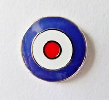 royal air force lapel badge RAF British  Forces Roundel